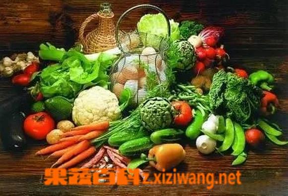 果蔬百科碱性食物有哪些